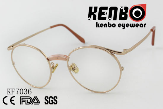 High Quality PC Optical Glasses with Mixed Frame Ce FDA Kf7036