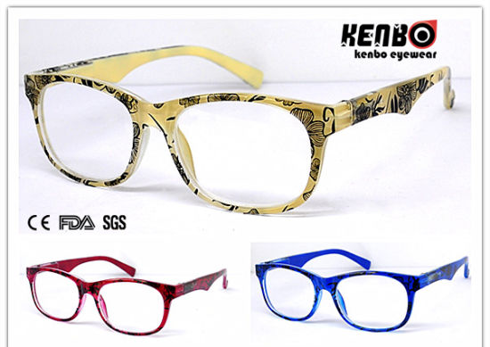 Hot Sale Reading Glasses with Nice Pattern CE Standard Kr4156